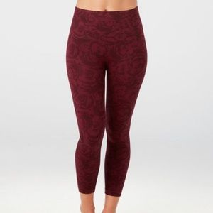Spanx cropped look at me now leggings 1x